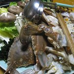 しな川 - 渡り蟹の鍋