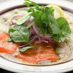 ザ ビーチ - 新鮮旬魚のカルパッチョ