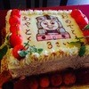 Mr.トーマス - 料理写真:誕生日のオーダーメードキャラクターケーキ
