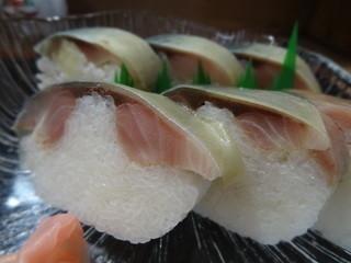 千登利亭 - 鯖寿司(1980円)