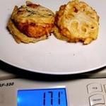 惣菜なかふじ - レンコンはさみ揚げ:計量図 by ももち
