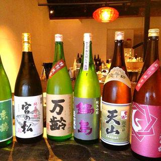 【厳選日本酒】期間限定銘柄の日本酒も多数あり!