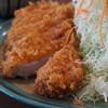 浜っ子 - 料理写真:970えん『ランチとんかつ定食』2014.6