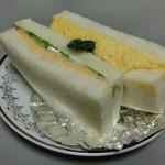 パンのくっくう - ハムチーズ&タマゴサンド