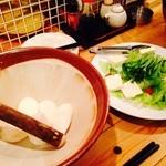 炉端かば - 山芋サラダ
