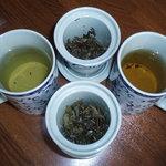 2849389 - 凍頂烏龍茶(トウチョウウーロンチャ)と黄金桂(オウゴンケイ)