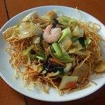 中国海鮮料理北園 - 料理写真:揚げ焼きそば