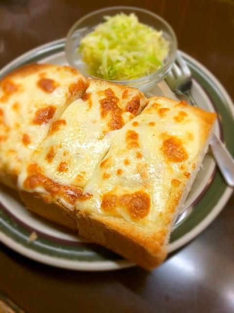 珈琲の店都亜 - チーズトースト