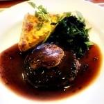 デニーズ - 牛フィレ肉のロッシーニ風ステーキ