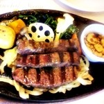 デニーズ - 熟成牛みすじステーキ
