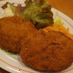 敦賀ヨーロッパ軒 - ミンチカツ ¥840