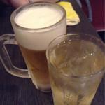 好好 - ビールとハイボールで乾杯