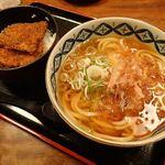 28492962 - カツ丼セット ¥1,100