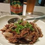 オリエンタルキッチン マリカ - 干し鹿肉と玉ねぎのあえもの H26.6