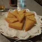 オリエンタルキッチン マリカ - ひよこ豆で作ったミャンマー風豆腐揚げ H26.6