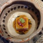 花郷 - 弾力のあるお豆腐 ウニのせ