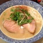 島田製麺食堂 - 鶏骨そばバージョン5<麺大盛り無料>(800円)