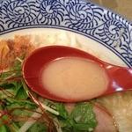 島田製麺食堂 - 鶏骨そばバージョン5<麺大盛り無料>(800円)スープ