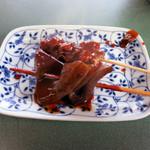 まるしん - 蒟蒻と牛筋、赤味噌ダレが美味