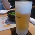 瞬彩 - 生ビール中