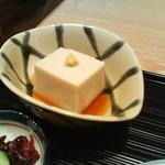 京都 つる家 花陽 - 胡麻豆腐
