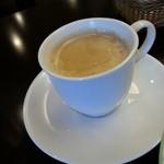 ほほえみカフェ - セットのコーヒーです(2014年6月)。