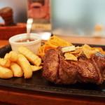 レストラン カタヤマ - 料理写真:グラスステーキ260g \1790