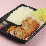 とんかつ 心 - ホタテフライ定食