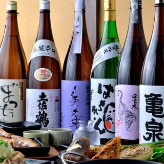 日本酒にこだわりあり!土佐(高知)の地酒を多数ご用意♪