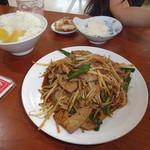三国屋 - 料理写真:たっぷりメイン料理