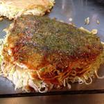 しん八 - 肉玉そば700円、野菜増し