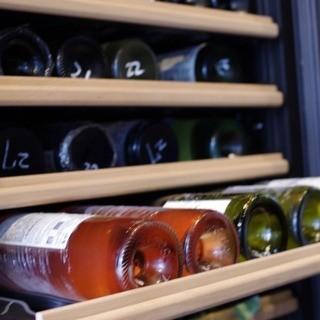 40種類以上のワインがお楽しみいただけます。
