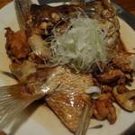28507981 - 天然真鯛のカブト煮