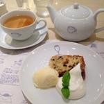 カフェ ゆとりの空間 - ディナーセット デザート
