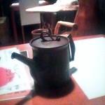 28511645 - お茶のお替わりは茶瓶でどうぞ