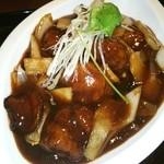 石庫門 - 黒酢酢豚♡