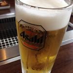 大陸食道 - ビール