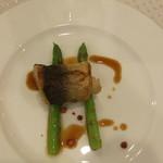 ベルヴィ武蔵野 - 料理写真:カマスとフォアグラのガランティーヌ ポアブルロゼ