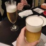 28516924 - まずはビールで乾杯なり~(*´∀`*)