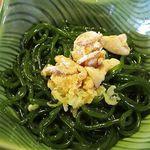 鮨亭 笹元 - 昆布麺