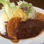 キッチングローリ - グローリランチ650円(メインは日替り)