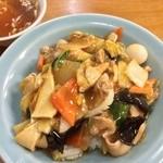 中華料理 喜楽 - 中華丼
