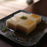 手打ち蕎麦 かね井 - そば豆腐 (2014/06)