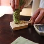 手打ち蕎麦 かね井 - たくさんおろしてね (2014/06)