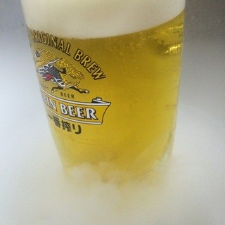 キンキン冷え冷え南極生ビール