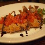 BOSSO - 旭産イモ豚のカツレツ 生トマトのソース