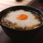手打ち蕎麦 かね井 - 山かけそば (2014/06)