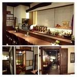 今泉小路 日和日 - 今回は個室利用ですが、カウンターのある店内も素敵。