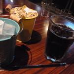 べいらっきょ - ランチ付属のアイスコーヒー2014年6月12日