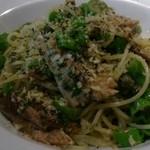 ダリアロッソ - 鰯とししとうのスパゲッティ